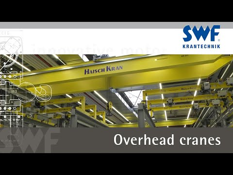 Saving time and energy when handling loads: Overhead cranes with innovative motor technology
