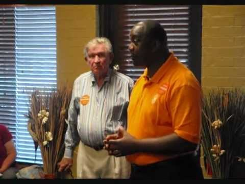Breakfast with Coach Johnny Major and Anthony Hancock