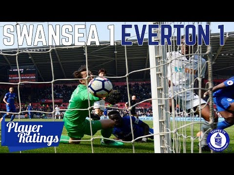 Swansea City 1-1 Everton | Player Ratings