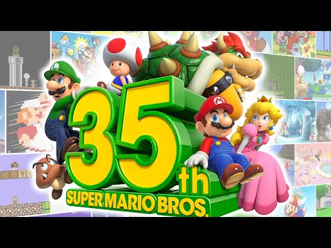 Super Mario Bros 35th Anniversary Nintendo Direct 2020 HD