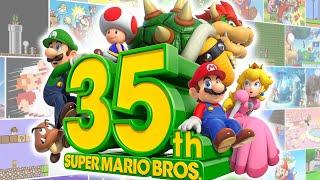 Super Mario Bros 35th Anniversary Nintendo Direct 2020 HD