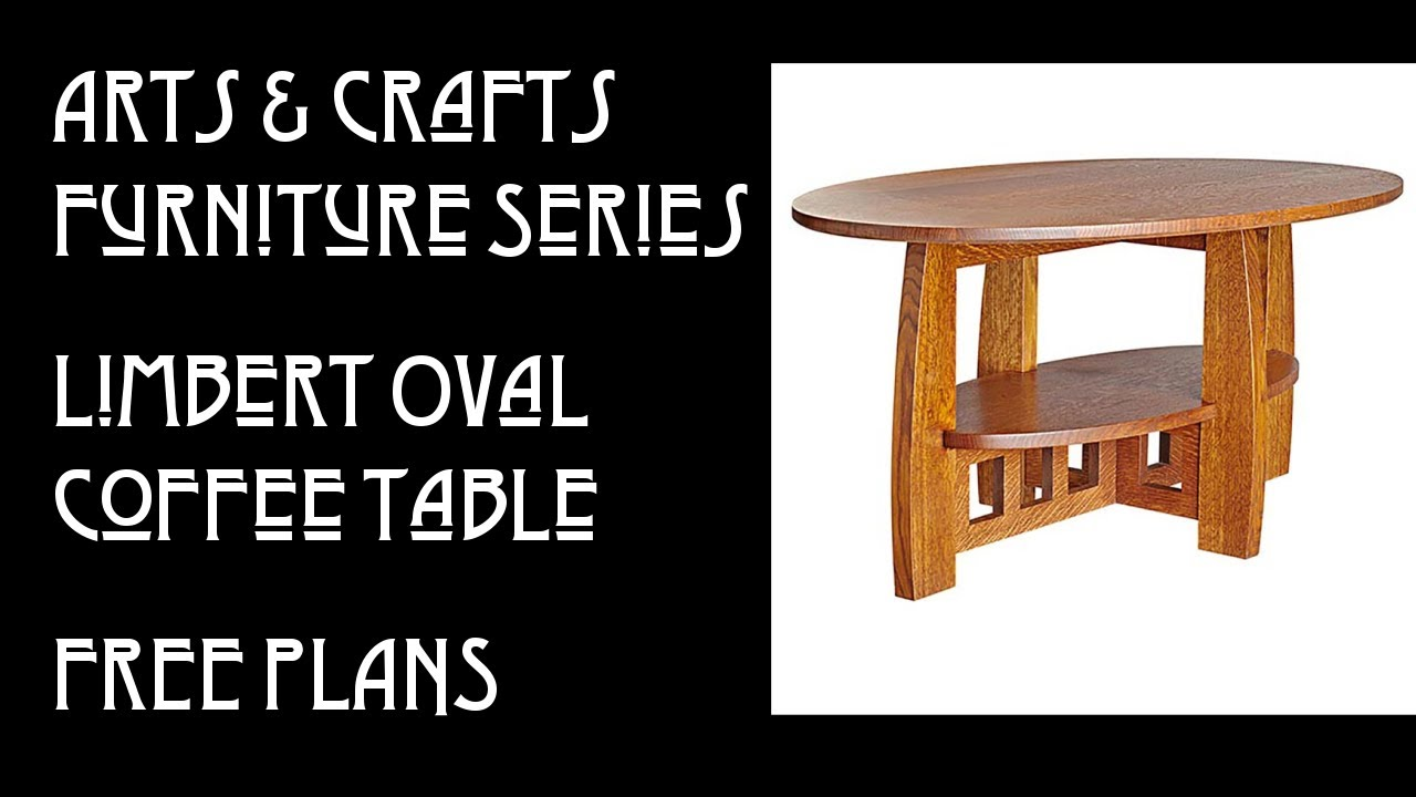 New Video:  Building the Limbert Oval Coffee Table