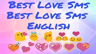 Best Love SMS || Love Shayari English || 10 Amazing shayari ||Must Watch