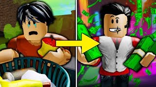 POOR TO RICH TEIL 2: DIE MEAN MANAGER'S REVENGE (A Sad Roblox Bloxburg MOVIE)