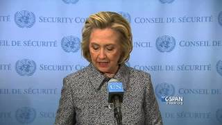 Hillary Clinton on Personal Email Account (C-SPAN)