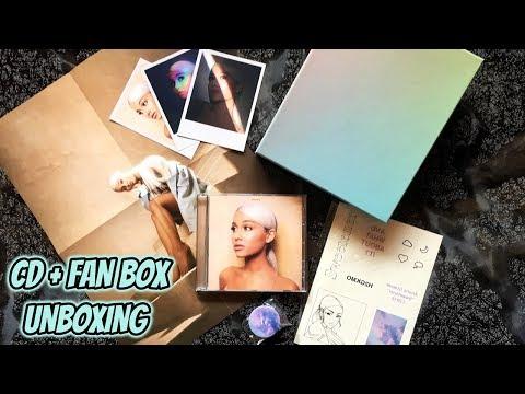 UNBOXING: Ariana Grande - SWEETENER  + Fanbox Edición Limitada  JJ