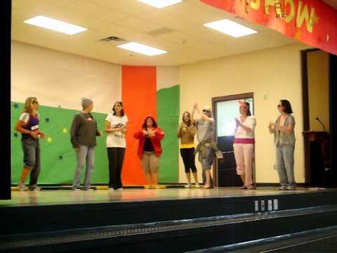 Butterfield Elementary School Teacher Talent Show Performance 2008-2009 year