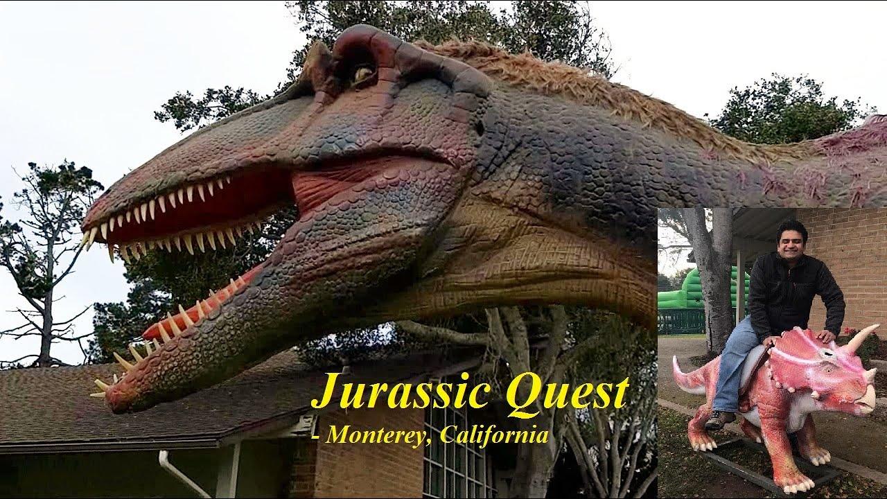 jurassic quest walk among dinosaurs  youtube
