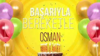 İyi ki doğdun OSMAN- İsme Özel Doğum Günü Şarkısı (FULL VERSİYON)