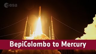 BepiColombo: preparations & launch (timelapse)