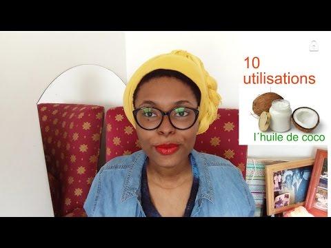 10 façons d'utiliser l'huile de coco