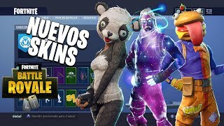 NEW SKINS in Fortnite Skin Galactico Exclusive to Samsung? A TIROLESA Fortnite is coming