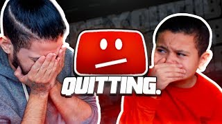 KAYLEN is Quitting YouTube... **PRANK ON MINDOFREZ!**