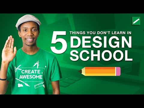 5 Things You Don't Learn in Graphic Design School
