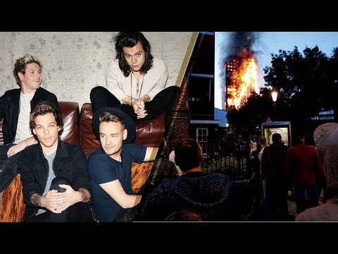 One Direction REUNITING for London Fire Victims?
