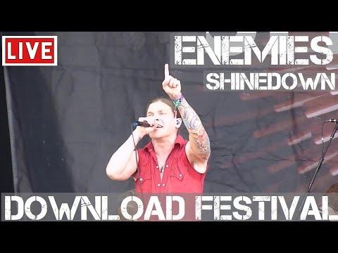 Shinedown - Enemies Live in [HD] @ Download Festival 2012