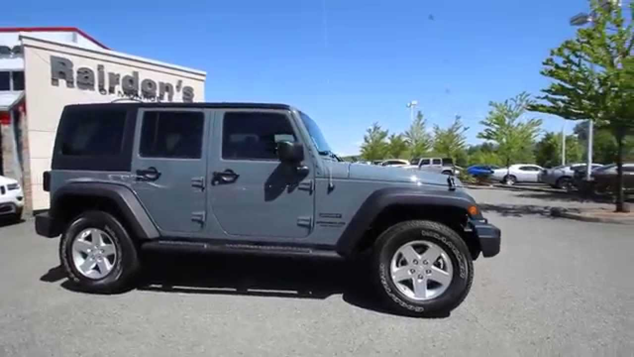2014 jeep wrangler unlimited sport | anvil | el247556 | everett