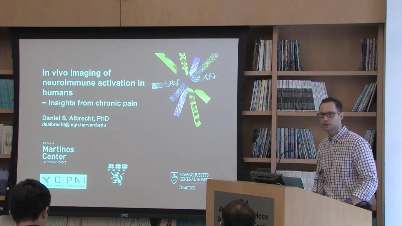 Daniel S  Albrecht, PhD: In vivo imaging of neuroimmune activation in humans