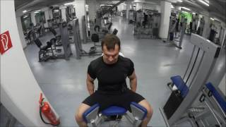Моя тренировка ног - Mein Bein Training