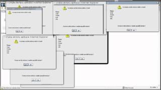 Internet Explorer 7 Linux (JavaScript) Fail