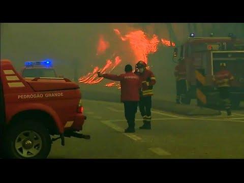Feuer in Portugal: Bislang mindestens 62 Menschen gestorben