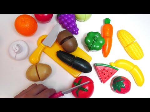 ألعاب الطبخ تقطيع الخضراوت و الفاكهة ألعاب بنات - Vegetables cutting Toy