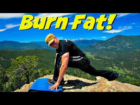 20 Min Fat Burning HIIT Workout Challenge - At Home Cardio ...
