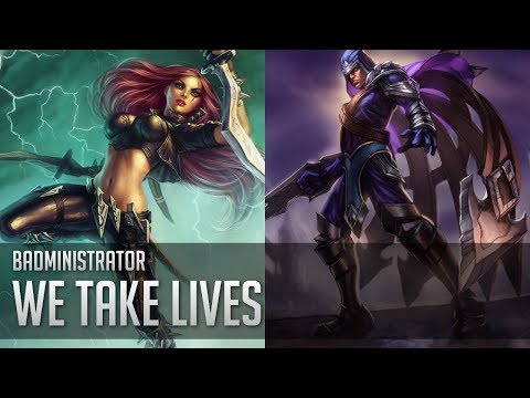 Badministrator - We Take Lives (Talon/Kat Tribute)