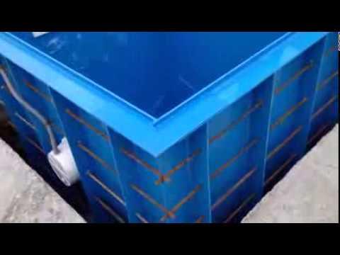 Купель полипропиленовая для бани