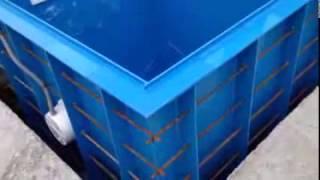 Купель полипропиленовая для бани(Строительство бассейнов, бассейны из полипропилена, пластиковые бассейны, сборные бассейны, облицовка..., 2016-10-30T16:48:05.000Z)