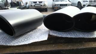 Насадки на глушитель Porsche Cayenne magnum. Насадки изготовлены на #grossu_avtovyhlop.(, 2016-04-02T19:23:57.000Z)