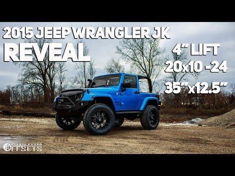 2015 Jeep Wrangler JK Transformation + Reveal!