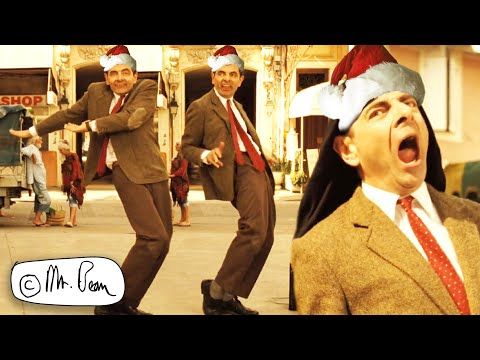 BOOMBASTIC XMAS Bean! 🕺🏽 | CHRISTMAS BEAN | Mr Bean's Holiday | Mr Bean Official