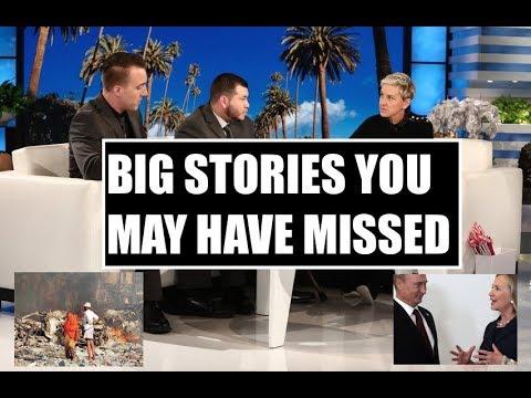 Somalia Attack, Jesus Campos On Ellen, Puerto Rico Crisis, Russia Uranium Deal, Catalonia & More