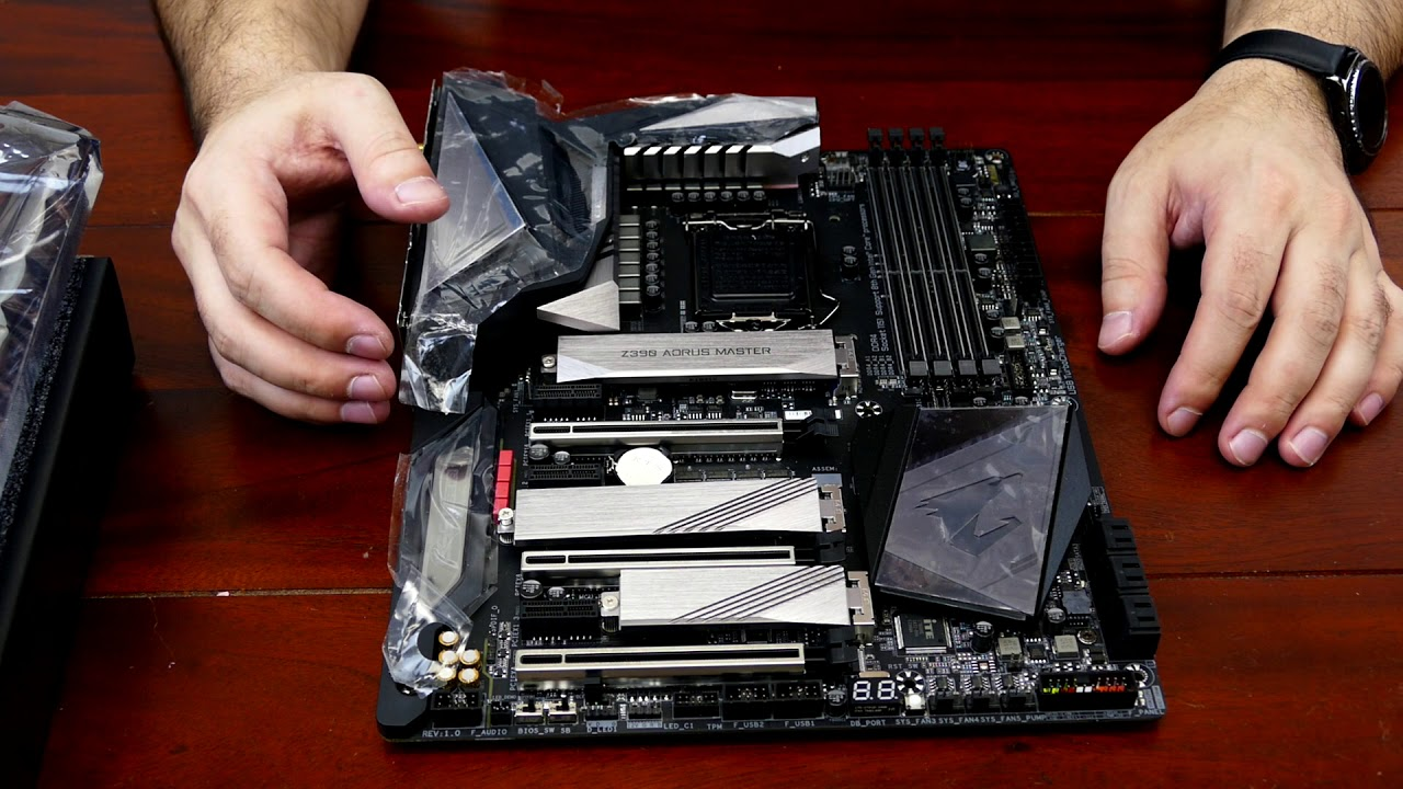 Overview of Aorus Z390 AORUS MASTER with Circuit Analysis
