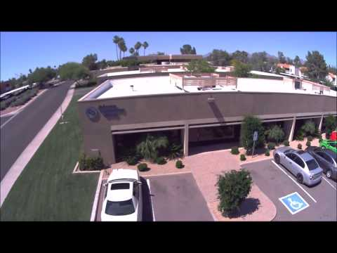 Drone video of JCG Offices in Scottsdale, Arizona