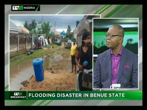 TVC Breakfast 4th September 2017 | Flooding Disaster in Benue State