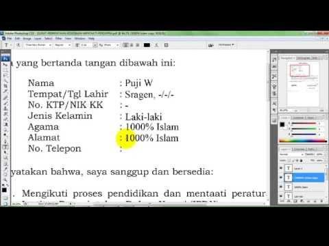 Cara Mengedit File PDF Di Photoshop   Belajar Photoshop