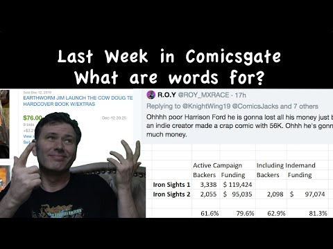Last Week in #Comicsgate: What are Words for?