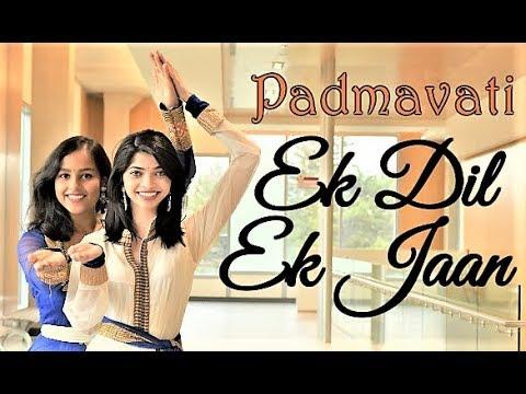 Padmaavat : EK DIL EK JAAN Dance Cover | Deepika Padukone | Shahid Kapoor | Bhansali | Maydha Shweta