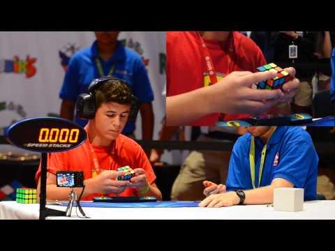 2014 Rubik's Cube US National Championship 3x3 Finals