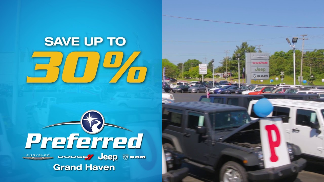 Preferred Grand Haven >> Spring Into Savings B Preferred Chrysler Dodge Jeep Ram Grand Haven