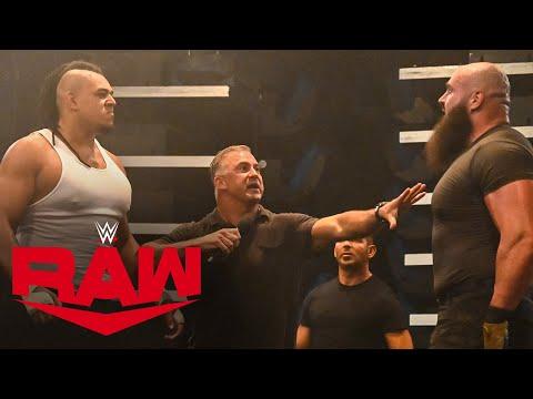 Dabba-Kato confronts Braun Strowman in Raw Underground: Raw, Sept. 14, 2020