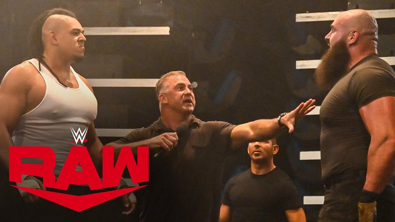 Download Dabba-Kato confronts Braun Strowman in Raw Underground: Raw, Sept. 14, 2020