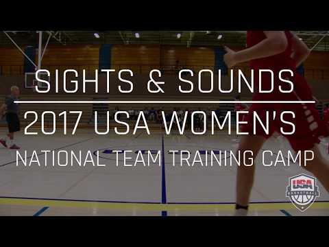 2017 USA Women's National Team Training Camp Sights & Sounds