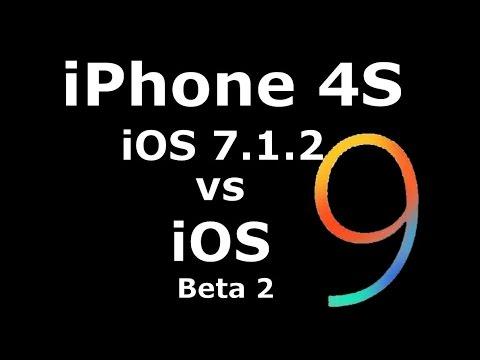 IOS 9 Beta 2 Vs 7.1.2 On IPhone 4S