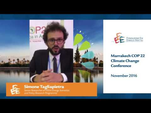 Marrakech COP 22 Climate Change Conference   November 2016