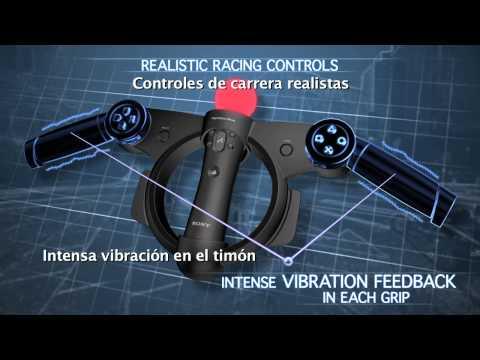 Volante para PlayStation Move (Racing Wheel)