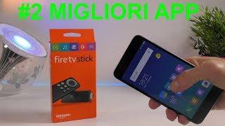 #2 MIGLIORI APP PER AMAZON FIRE TV STICK! FIRE TV APP!!