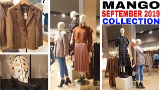 #MANGO SEPTEMBER 2019 COLLECTION | FALL / WINTER COLLECTION 2019
